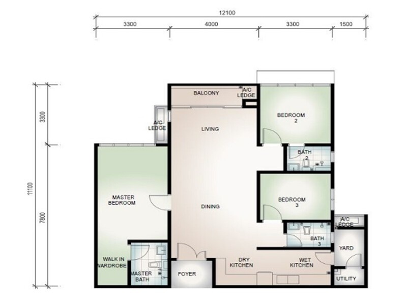Botanika Tebrau Bay New Condominium For Sale Nuprop