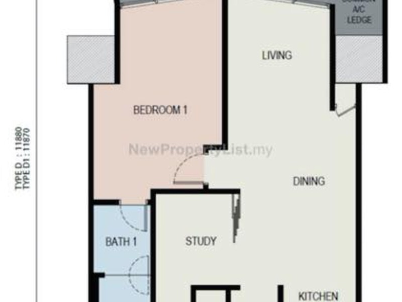 The Azure Residences Paradigm Pj New Serviced Apartment For Sale Nuprop